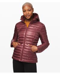 lululemon athletica - Pack It Down Jacket Shine - Lyst