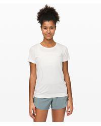 lululemon athletica Swiftly Relaxed Short Sleeve 2.0 - White