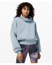 lululemon athletica Full Flourish Pullover - Blue