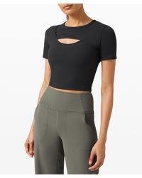 lululemon athletica Get Centred Short Sleeve - Black
