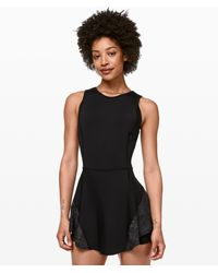 lululemon athletica Serene Stride Dress - Black