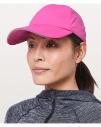 a1b531d8e79 Lyst - lululemon athletica Baller Hat  satin in Pink