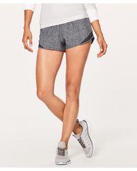 "lululemon athletica Hotty Hot Lr Short 2.5"" Lined - Grey"