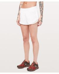 "lululemon athletica Hotty Hot Short (long) *4"" - White"