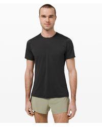 lululemon athletica Fast And Free Short Sleeve Shirt Recycled - Black