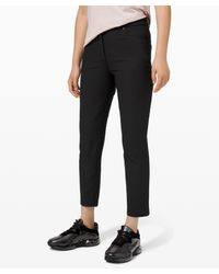 lululemon athletica City Sleek 5 Pocket 7/8 Pant - Black