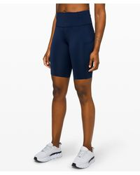 """lululemon athletica Fast And Free Short 10"""" *non-reflective - Blue"""