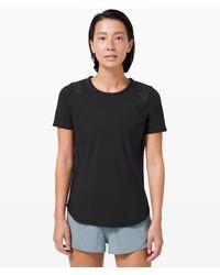 lululemon athletica Sculpt Short Sleeve - Black