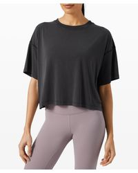lululemon athletica Ease Of It All Short Sleeve - Black