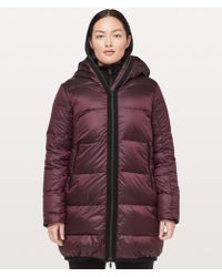 lululemon athletica - Cloudscape Long Jacket - Lyst