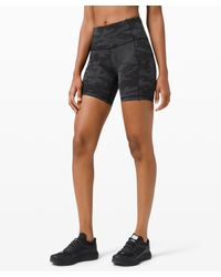 "lululemon athletica Fast And Free Short 6"" Non-reflective - Grey"
