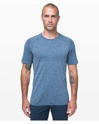 lululemon athletica Metal Vent Tech Short Sleeve 2.0 - Blue
