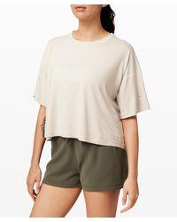 lululemon athletica Ease Of It All Short Sleeve - White