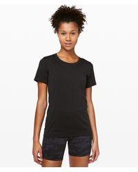 lululemon athletica Swiftly Relaxed Short Sleeve - Black