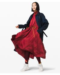 lululemon athletica Face Forward Dress * X Roksanda - Red