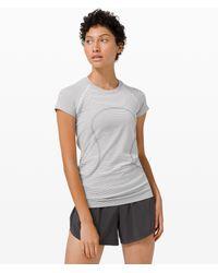 lululemon athletica Swiftly Tech Short Sleeve 2.0 - White