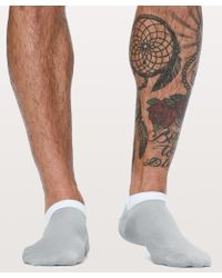 lululemon athletica - Surge Sock *silver - Lyst