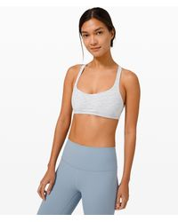lululemon athletica Free To Be Bra Wild*light Support, A/b Cup - Blue