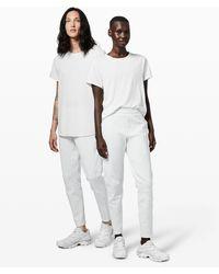 lululemon athletica Refract Short Sleeve * Lab - White
