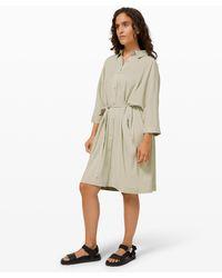 lululemon athletica Perfectly Poised Dress - Natural