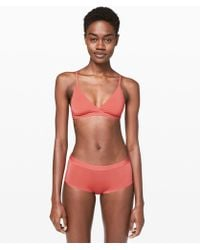 lululemon athletica Simply Strappy Bralette - Red