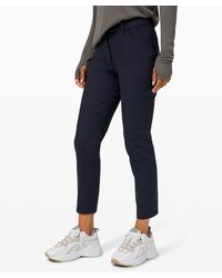 lululemon athletica City Sleek 5 Pocket 7/8 Pant - Blue