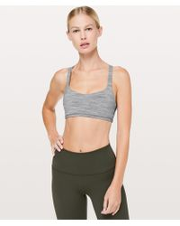 2c4d8c01b9 Lululemon Athletica Free To Be Bra in Gray - Lyst