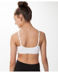 48849b706dd Lyst - Calvin Klein Big Girls  Micro Wirefree Bra in White