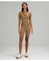 lululemon athletica Lululemon Lab Studio Bodysuit - Multicolour