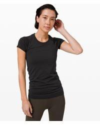 lululemon athletica Swiftly Tech Short Sleeve 2.0 - Black
