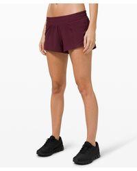 "lululemon athletica Hotty Hot Lr Short 2.5"" Lined - Multicolour"