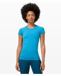 lululemon athletica Swiftly Tech Short Sleeve 2.0 - Blue