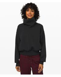 lululemon athletica Full Flourish Pullover - Black