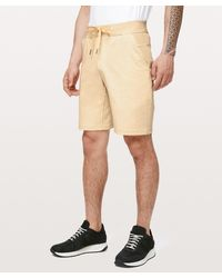 """lululemon athletica City Sweat Short French Terry 9"""" - Natural"""
