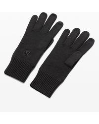 lululemon athletica Warm Revelation Gloves Tech - Black