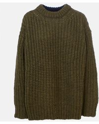 See By Chloé Green And Blue Sweater - Multicolor