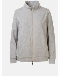 Peserico Gray Sweatshirt