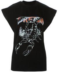 MSGM T-shirt con stampa - Nero