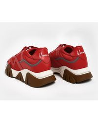Versace Sneakers Argento - Red
