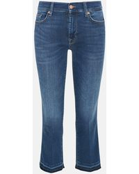 7 For All Mankind JEANS BOOT SLIM BLU