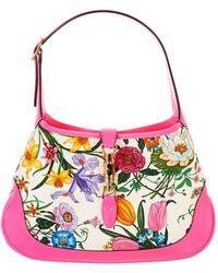 358be47748395 Lyst - Gucci Jackie Original Gg Shoulder Bag