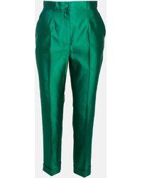 Dolce & Gabbana Green Pants