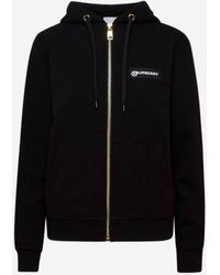 Burberry Black Aubree Sweatshirt