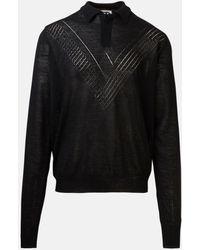 Jil Sander Black Sweater