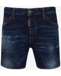 DSquared² Blue Dan Shorts