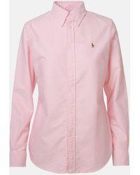 Polo Ralph Lauren Camicia Oxford Rosa - Pink