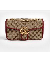 Gucci Mini borsa GG Marmont - Neutro