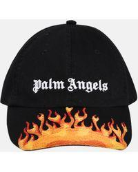 Palm Angels CAPPELLINO BURNING NERO
