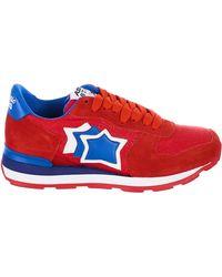 Atlantic Stars Red Vega Sneakers