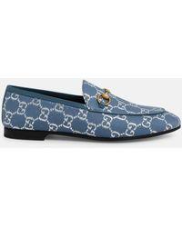 Gucci Jordaan Loafer - Blue
